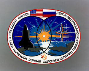 4 STS-71 Patch