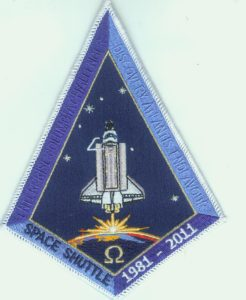 Shuttle salute patch